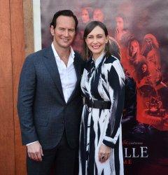 "Patrick Wilson and Vera Farmiga attend the ""Annabelle Comes Home"" premiere in Los Angeles"