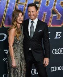 """Chris Pratt and Katherine Schwarzenegger attend """"Avengers: Endgame"""" premiere in Los Angeles"""