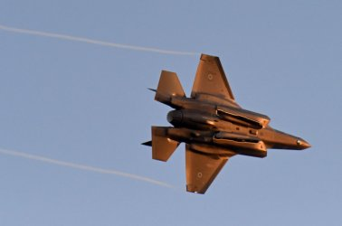 Israeli Air Force Air Show During Pilot Graduation Ceremony