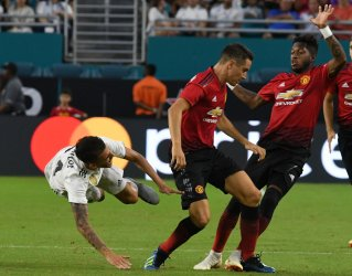 International Champions Cup match between Manchester United and Real Madrid at Hard Rock Stadium, Miami