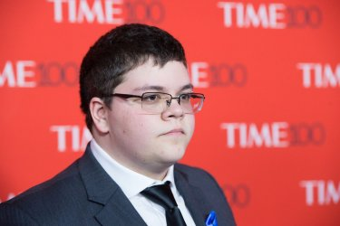 Gavin Grimm arrives at the TIME 100 Gala in New York