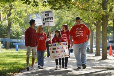 Teachers Strike in Chicago