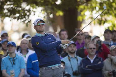 Bernd Wiesberger at the Masters