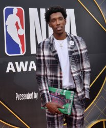 Josh Richardson attends the 2019 NBA Awards in Santa, Monica, California