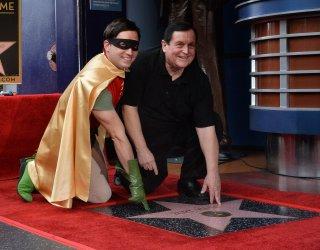 Burt Ward receives star on Hollywood Walk of Fame