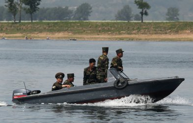 North Korean border