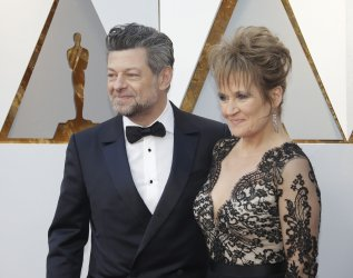 Andy Serkis arrives at the 90th Annual Academy Awards in Hollywood