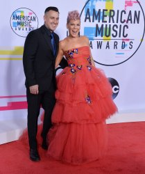 Pink and Carey Hart attend the annual 2017 American Music Awards in Los Angeles