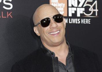 Vin Diesel at Billy Lynn's Long Halftime Walk Premiere