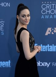 Emmy Rossum attends the Critics' Choice Awards in Santa Monica