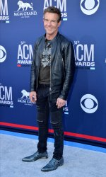 Dennis Quaid attends the Academy of Country Music Awards in Las Vegas