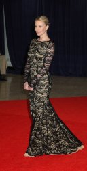 Actress Charlize Theron arrives at the White House Correspondents' Association Dinner