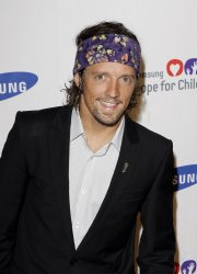 Jason Mraz arrives at the Samsung Hope for Children gala at Cipriani Wall Street in New York