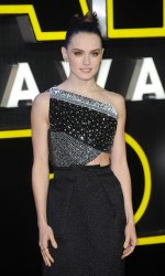"""Daisy Ridley attends the European Premiere of """"Star Wars - The Force Awakens"""" in London"""