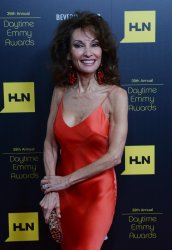 Susan Lucci attends the 39th annual Daytime Emmy Awards in Beverly Hills, California..
