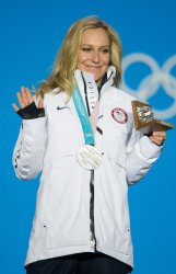 Medals Ceremony at Pyeongchang 2018 Winter Olympics