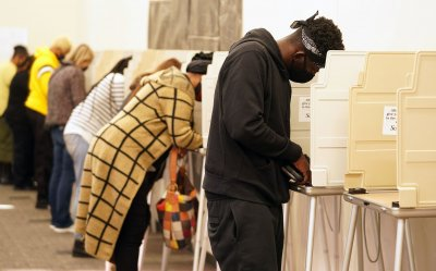 Voting Day In St. Louis