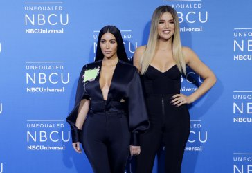 Kim Kardashian West at the 2017 NBCUniversal Upfront