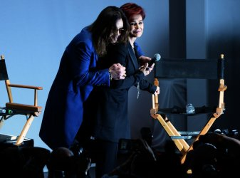Sharon and Ozzy Osbourne reunite for Ozzfest announcement in Los Angeles
