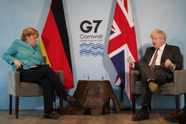 Members and Guests Attend the G7 Summit in Cornwall, United Kingdom