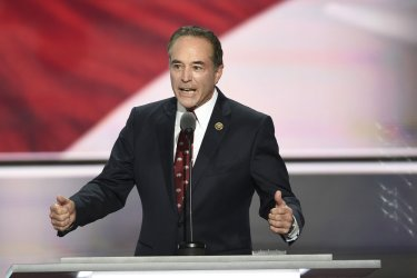 Rep. Chris Collins speaking at the Republican National Convention in Cleveland