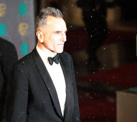 Daniel Day Lewis arrives at the Baftas Awards Ceremony