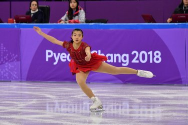 Women's Single Team Figure Skating at the Pyeongchang 2018 Winter Olympics