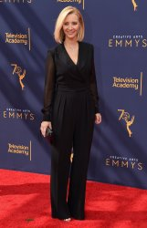 Lisa Kudrow attends the Creative Arts Emmy Awards in Los Angeles