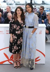 Dany Martial and Athenais Sifaoui attend the Cannes Film Festival