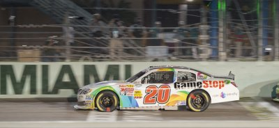 Homestead-Miami Speedway hosts the NASCAR Ford EcoBoost Championship Series in Homestead, Florida.