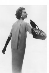 Paris inspired fashion in New York in the late 1950s