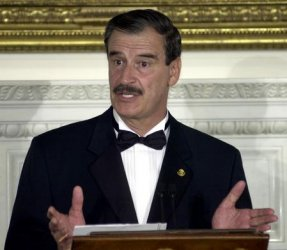 President Bush Hosts State Dinner for Mexican President Fox