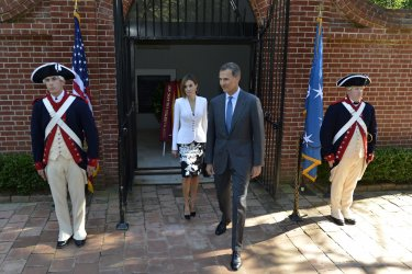 Spanish King and Queen visit Mount Vernon