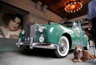 Elizabeth Taylor's 1960 Rolls Royce Silver Cloud II