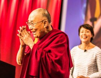 Dalai Lama  at the United States Conference of Mayors