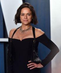 Michelle Rodriguez attends Vanity Fair Oscar party 2020