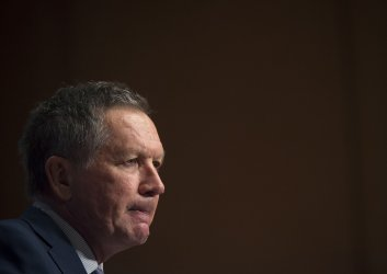 John Kasich attends the Republican Jewish Coalition Presidential Candidates Forum