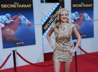 "Amanda Michalka attends the ""Secretariat"" premiere in Los Angeles"
