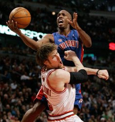NBA Basketball Detroit Pistons vs Chicago Bulls