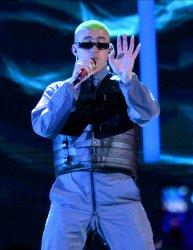 Bad Bunny performs at the Billboard Latin Music Awards in Las Vegas