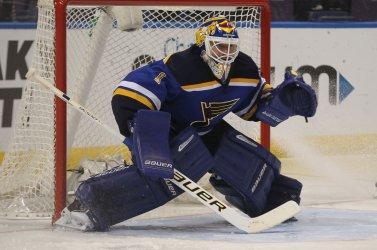 St. Louis Blues goaltender Brian Elliott