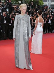 Tilda Swinton attends the Cannes Film Festival