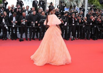 Aja Naomi King attends the Cannes Film Festival