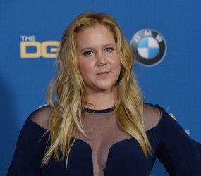 Amy Schumer appears backstage at the 70th annual Directors Guild of America Awards in Beverly Hills
