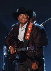 George Strait performs at the 43rd Annual CMA Awards in Nashville