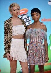 Skai Jackson and Josie Totah attend Kids' Choice Awards