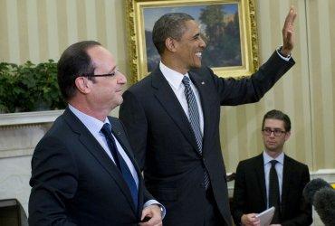 President Obama meets French President Francois Hollande in Washington