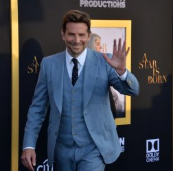 """Bradley Cooper attends the premiere of """"A Star is Born"""" in Los Angeles"""