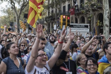 Catalonia's Regional Parliament Votes For Independence From Spain
