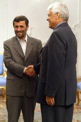 Iran's President Mahmoud Ahmadinejad's welcomes OPEC secretary